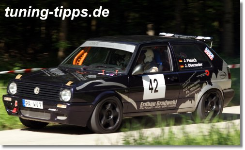 Golf 2 15V 2,0L Rallye Weidwies 2012